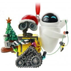 Disney WALL-E and EVE Festive Hanging Ornament