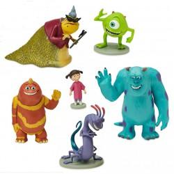 Disney Monsters, Inc. Figurine Playset