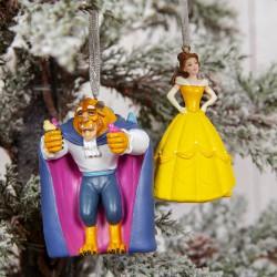 Disney Beauty and the Beast Ornament Set (2)