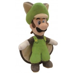 Super Mario Bros.: Flying Squirrel Luigi 38cm Pluche