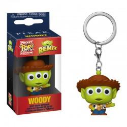 Funko Pocket Pop Keychain Alien as Woody, Toy Story