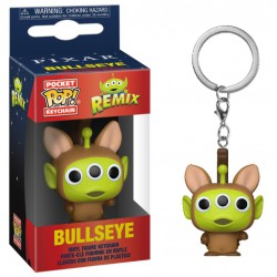 Funko Pocket Pop Keychain Alien as Bullseye, Toy Story