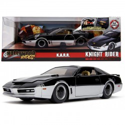 Knight Rider Diecast Model 1/24 1982 Pontiac Trans Am K.A.R.R. with Light-Up Function