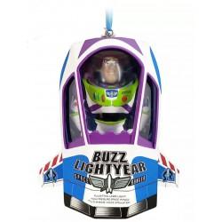 Disney Buzz Lightyear Talking Hanging Ornament