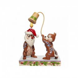 Disney Traditions - Christmas Chip 'n Dale Figurine