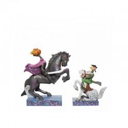 Disney Traditions - Headless Horseman and Ichabod Crane Figurine