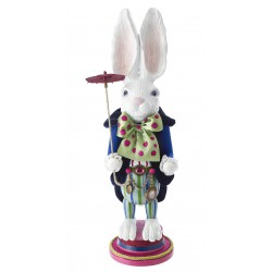 Disney Hollywood White Rabbit Nutcracker