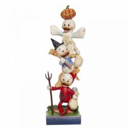 Disney Traditions - Halloween Stacked Huey, Dewey and Louie Figurine