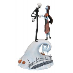 Nightmare Before Christmas Milestones Statue Jack & Sally 36 cm