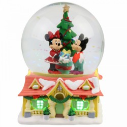 Mickey and Minnie Waterball / Snowglobe