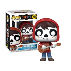 Funko Pop 741 Miguel Day of the Dead Makeup Convention Exclusive, Coco