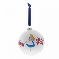 Disney We're All Mad Here (Alice in Wonderland Bauble), Ornament