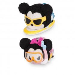 Mickey and Minnie Mouse ''Tsum Tsum'' Plush Hawaii Set