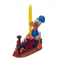 Disney Donald Duck Train Hanging Ornament