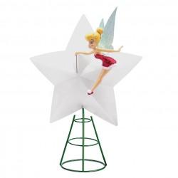 Disney Tinker Bell Holiday Cheer Light-Up Tree Topper