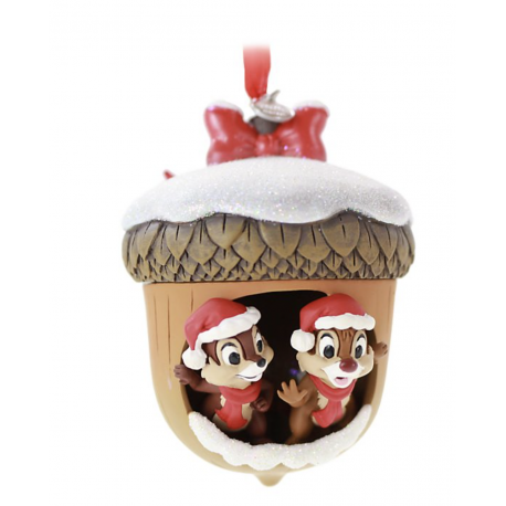Disney Chip 'n' Dale Festive Hanging Ornament