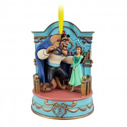 Disney Beauty and the Beast Singing Hanging Ornament