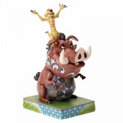 Disney Traditions - Carefree Cohorts (Timon and Pumbaa Figurine)