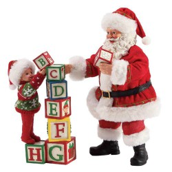 Building Blocks Santa Possible Dreams