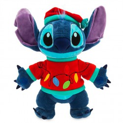 Disney Stitch Light-Up Holiday Cheer Plush
