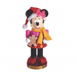 Disney Minnie with Gingerbread Doll Nutcracker