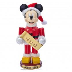 Disney Mickey Mouse Santa Doll Nutcracker