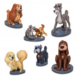 Disney Lady and the Tramp Figure Play Set