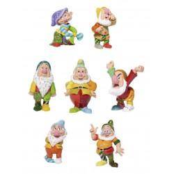 Disney Britto Seven Dwarfs Figurine Set (7)