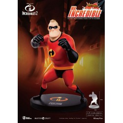 Disney The Incredibles 2 Master Craft Statue 1/4 Mr. Incredible 45 cm