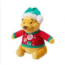 Disney Winnie The Pooh Christmas Pluche