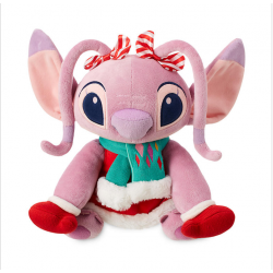Disney Lilo & Stitch Angel Christmas Pluche