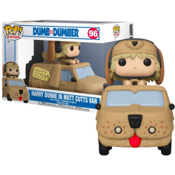 Funko Pop Rides 96 Harry Dunne with Mutt Cutts Van, Dumb & Dumber